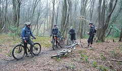 Danbury - Tonto Goes North - 2010 February - Mountain Biking