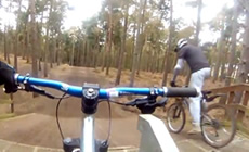 banner999 riding Chicksands - 2013 April - Mountain Biking