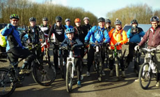 EHMTB does Bedgebury - 2015 March - Mountain Biking