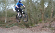 Danbury & Dorking Jumps & Trails - 2009 January - Mountain Biking