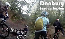 Danbury - Winter Sunday riding - 2010 November - Mountain Biking