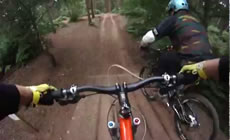 Chicksands - Damo does the MTB duel - 2011 June - Mountain Biking