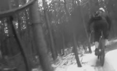 Swinley Forest - In the Snow - 2012 February - Mountain Biking