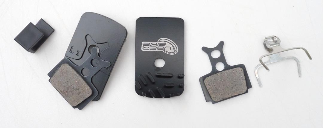Uberbike Finned Brake Pads Detail