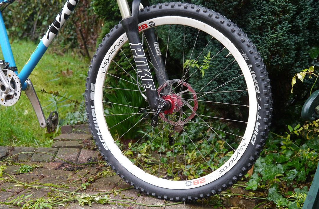 "Schwalbe Dirty Dan 26/"" x 2.00 Mountain Bike Tubeless Ready Evo NEW IN BOX"